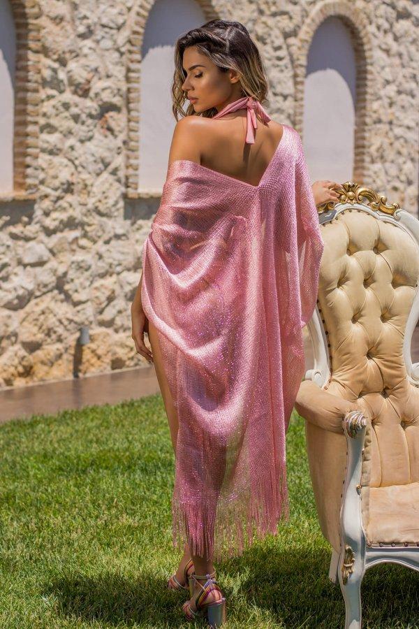 ΜΑΓΙΟ ΠΡΟΣΦΟΡΕΣ Charita καφτάνι ροζ