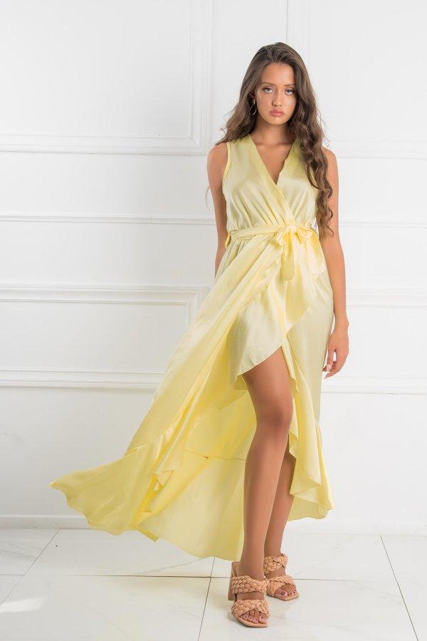 ΦΟΡΕΜΑΤΑ SALES Answer φόρεμα κίτρινο