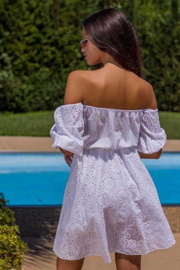 ΜΙΝΙ ΦΟΡΕΜΑΤΑ Poet φόρεμα λευκό
