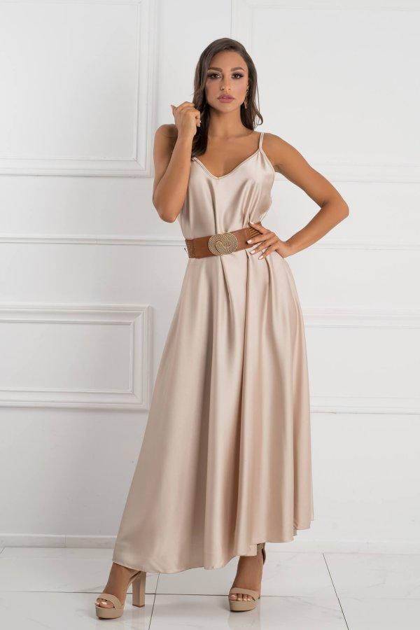 ΜΑΞΙ ΦΟΡΕΜΑΤΑ Mirage φόρεμα χρυσό