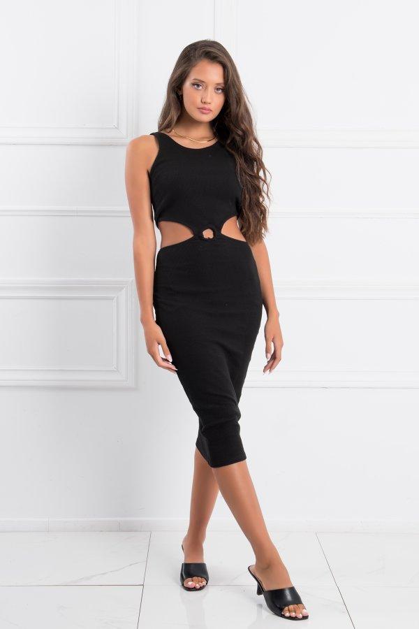 ΦΟΡΕΜΑΤΑ Academy φόρεμα μαύρο
