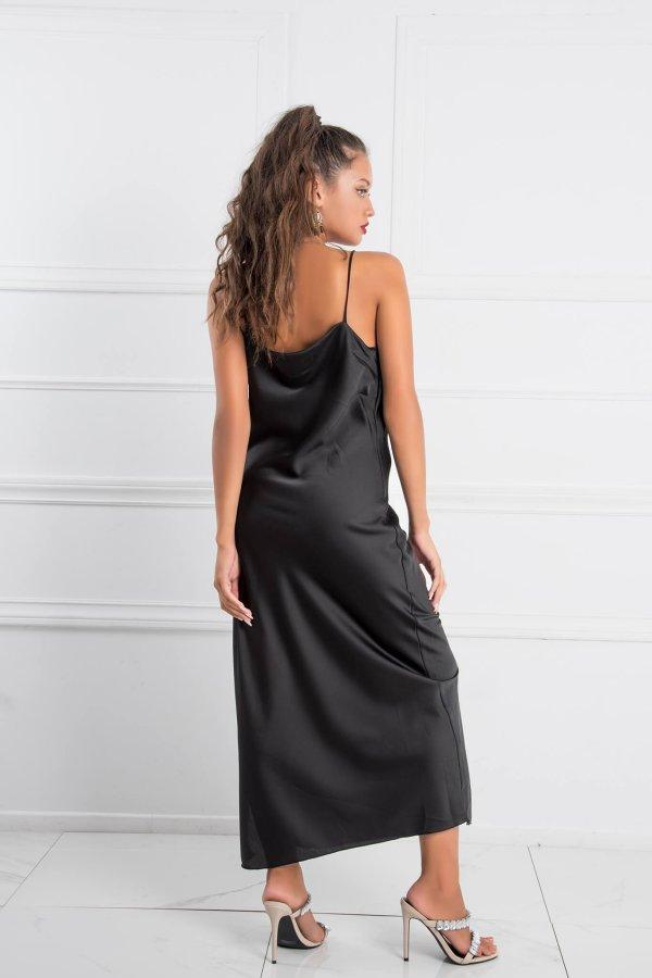 ΜΑΞΙ ΦΟΡΕΜΑΤΑ Denis φόρεμα μαύρο