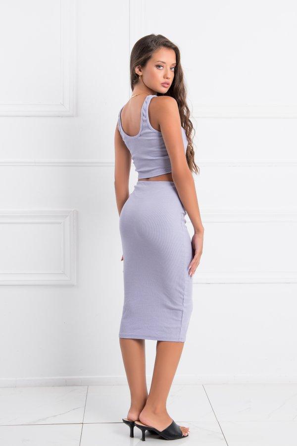 ΦΟΡΕΜΑΤΑ Academy φόρεμα λιλά