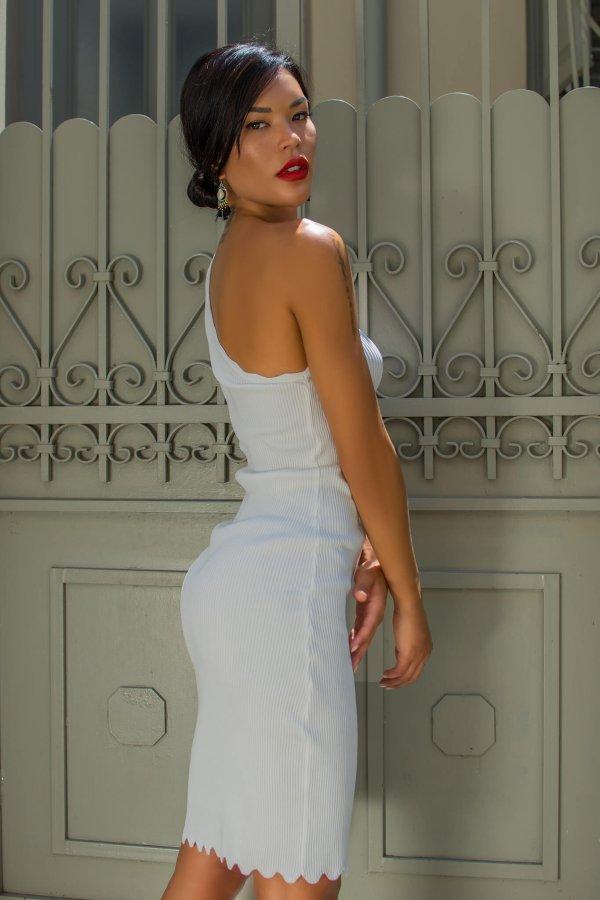 ΦΟΡΕΜΑΤΑ ΠΡΟΣΦΟΡΕΣ Maid φόρεμα λευκό