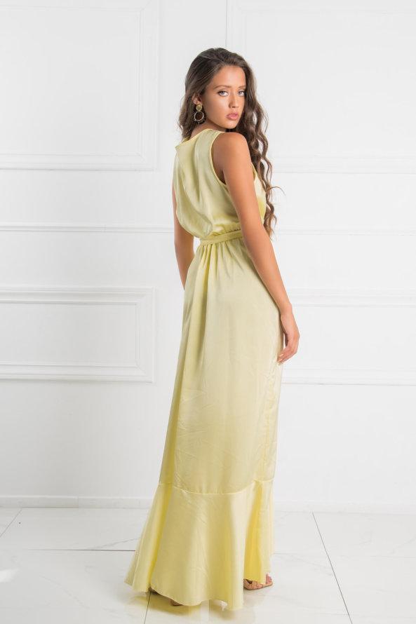 ΜΑΞΙ ΦΟΡΕΜΑΤΑ Answer φόρεμα κίτρινο