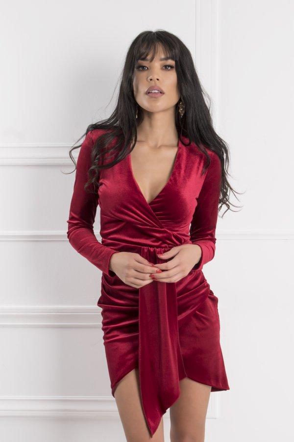 ΦΟΡΕΜΑΤΑ SALES Cambria φόρεμα κόκκινο