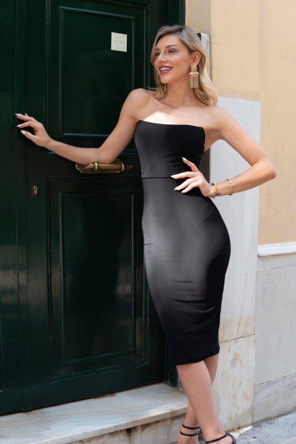 ΜΙΝΤΙ ΦΟΡΕΜΑΤΑ Asia φόρεμα μαύρο