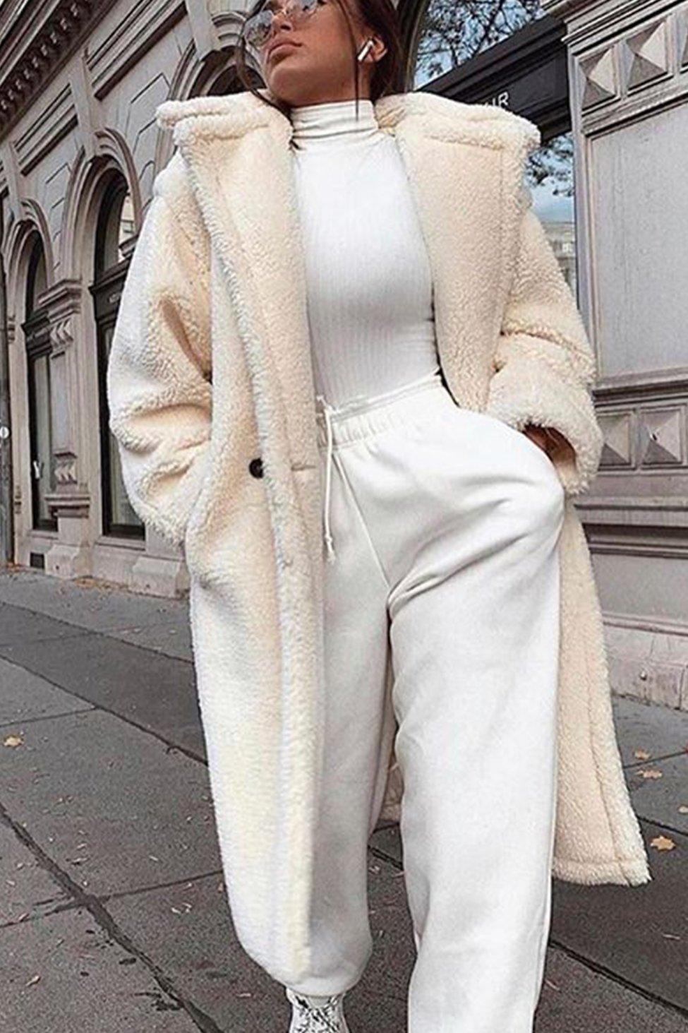 Eda γούνα λευκό