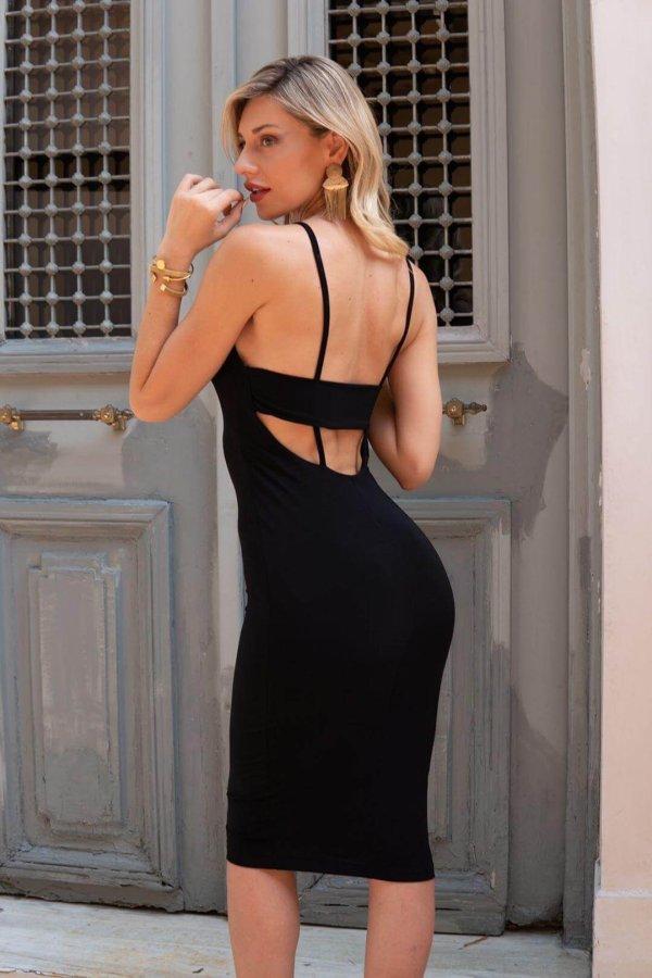 Alcide φόρεμα μαύρο