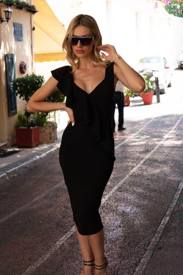 Alfeo φόρεμα μαύρο