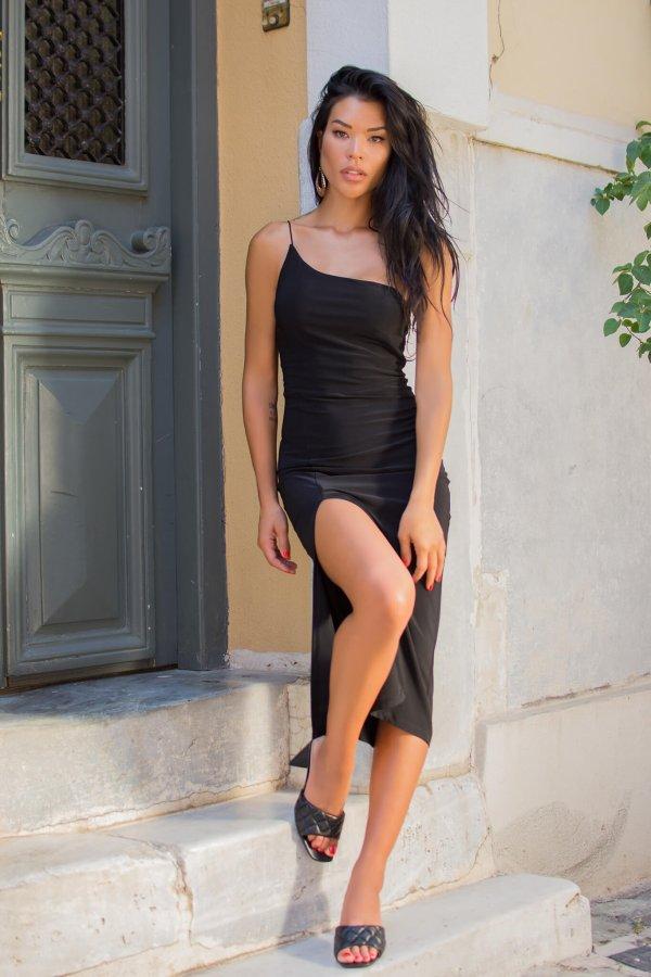 ΜΙΝΤΙ ΦΟΡΕΜΑΤΑ Smashive φόρεμα μαύρο