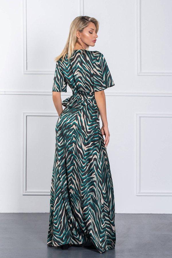 ΜΑΞΙ ΦΟΡΕΜΑΤΑ Hiroko φόρεμα πράσινο