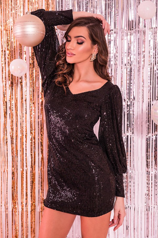 ΦΟΡΕΜΑΤΑ SALES Felicie φόρεμα μαύρο