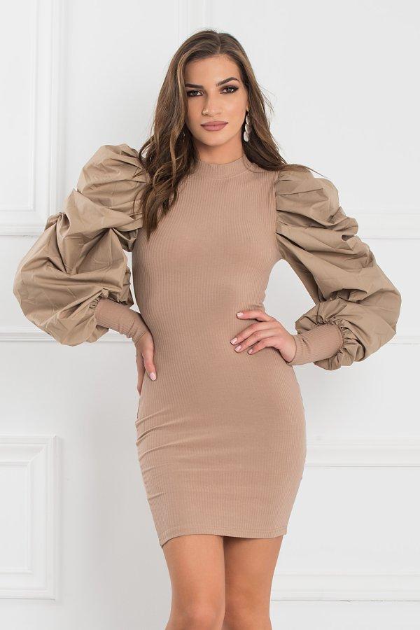 ΦΟΡΕΜΑΤΑ SALES Floyd φόρεμα μπεζ