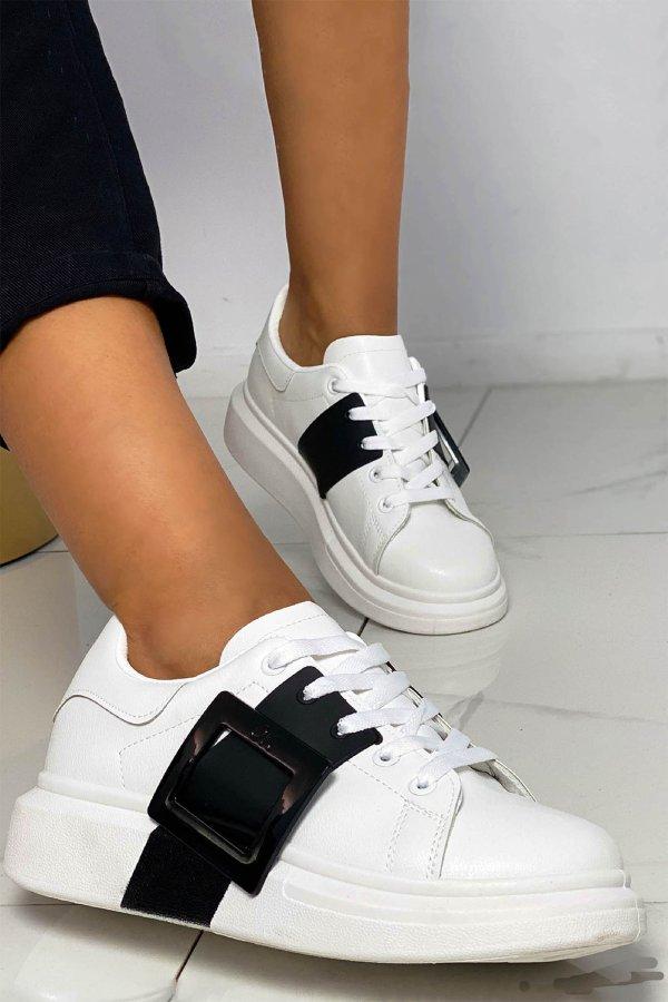 ΑΘΛΗΤΙΚΑ Advertise sneakers λευκό