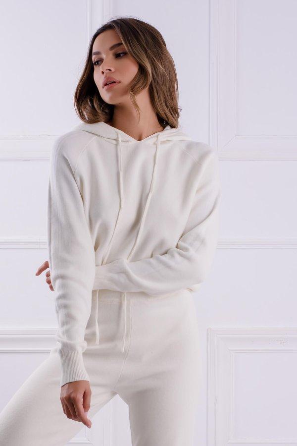 ΠΛΕΚΤΑ Nilda μπλούζα off white