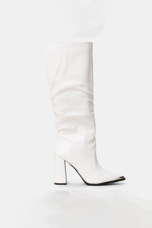 ΜΠΟΤΕΣ Investment μπότες λευκό