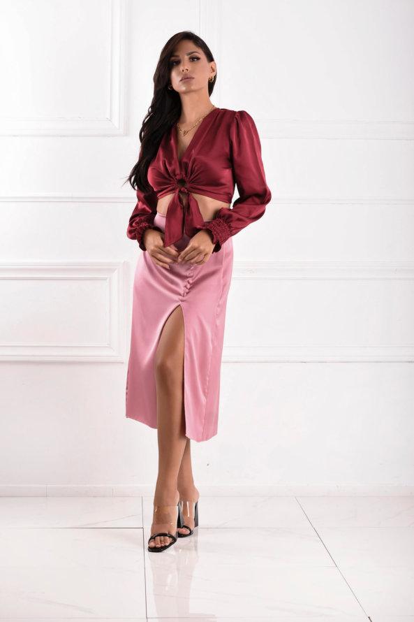 ΦΟΥΣΤΕΣ Concetta φούστα ροζ