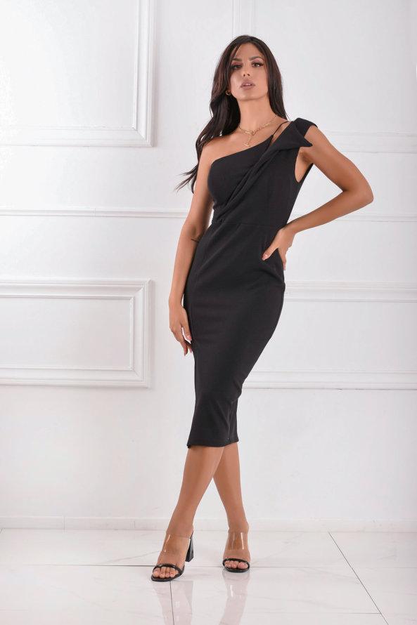 ΜΙΝΤΙ ΦΟΡΕΜΑΤΑ Meilin φόρεμα μαύρο