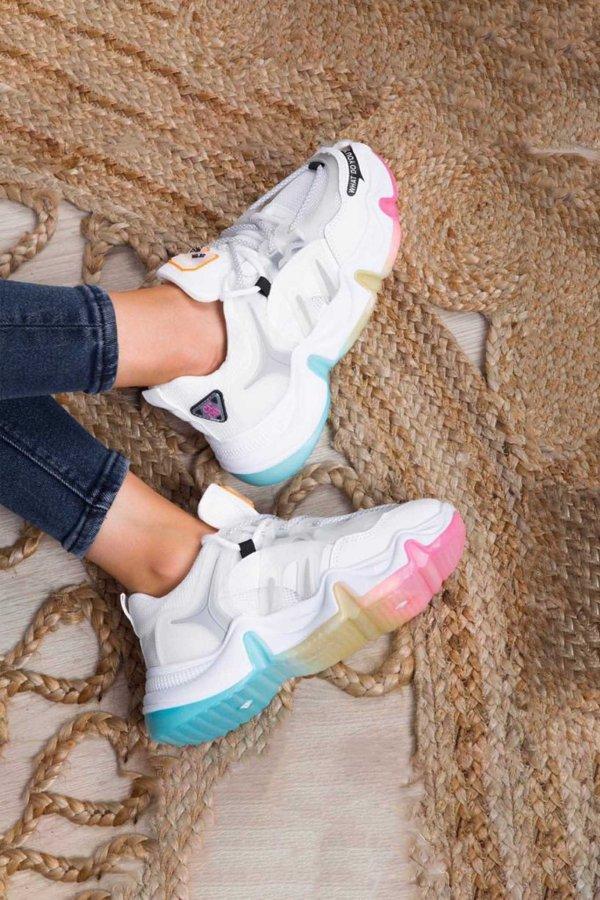 Corner sneakers λευκό