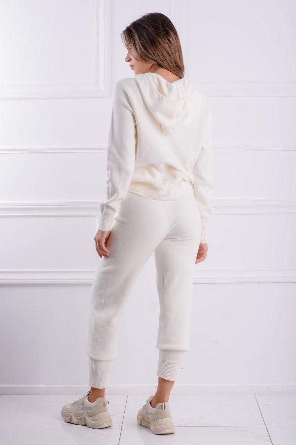 ΠΛΕΚΤΑ Nilda παντελόνι off white