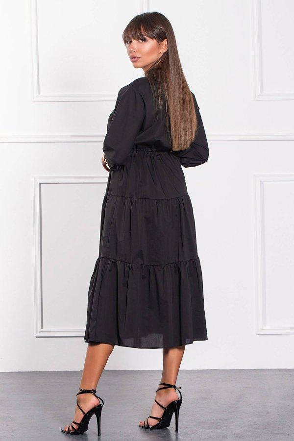 ΜΑΞΙ ΦΟΡΕΜΑΤΑ Miyoko φόρεμα μαύρο