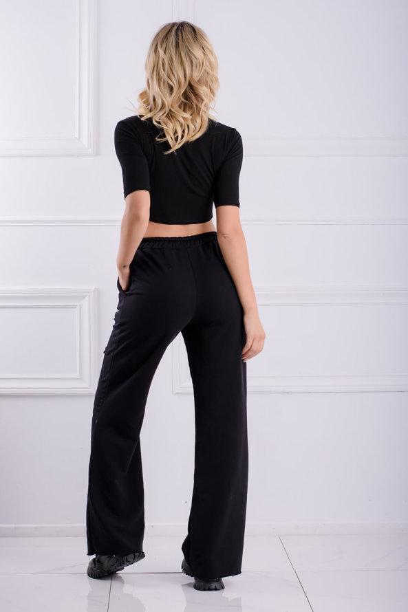 ΠΑΝΤΕΛΟΝΙΑ Borrow παντελόνι μαύρο