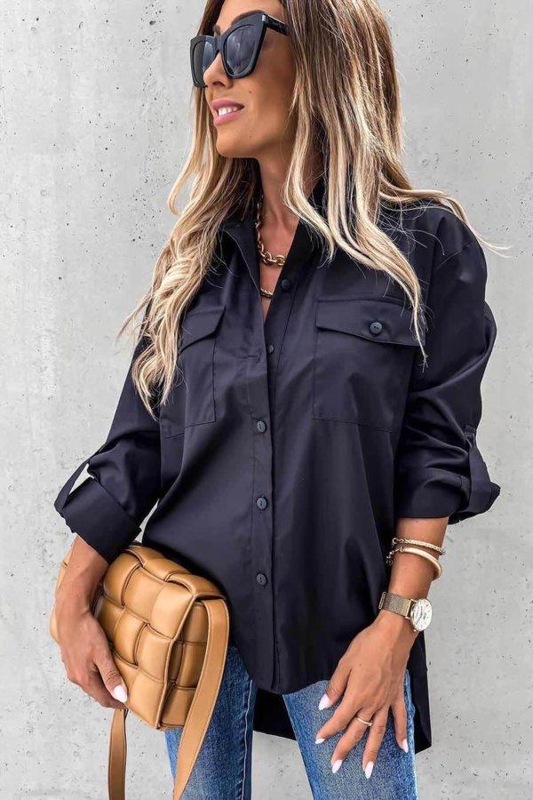 ΠΟΥΚΑΜΙΣΑ Thoughtful πουκάμισο μαύρο