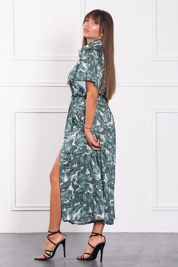 ΜΑΞΙ ΦΟΡΕΜΑΤΑ Haru φόρεμα πράσινο