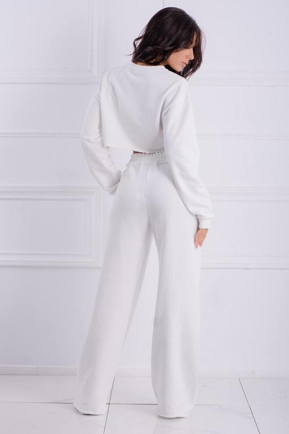 ΠΑΝΤΕΛΟΝΙΑ Emotion παντελόνι λευκό