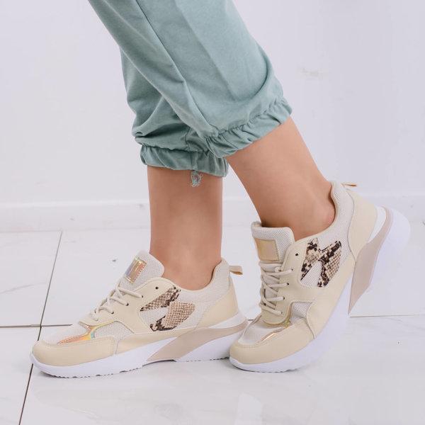 ΑΘΛΗΤΙΚΑ Eject sneakers μπεζ