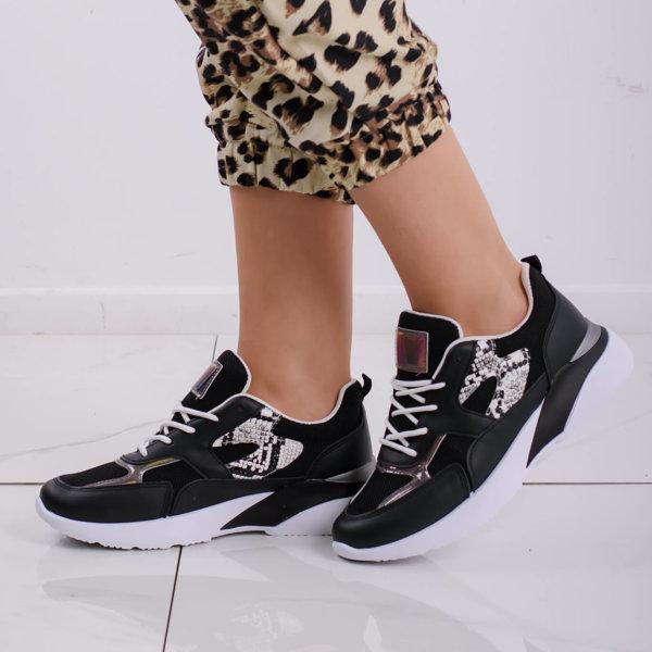 ΑΘΛΗΤΙΚΑ Eject sneakers μαύρο