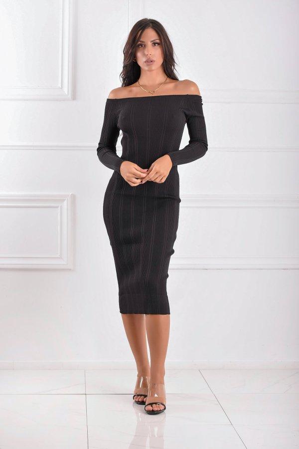 ΜΙΝΤΙ ΦΟΡΕΜΑΤΑ Excess φόρεμα μαύρο