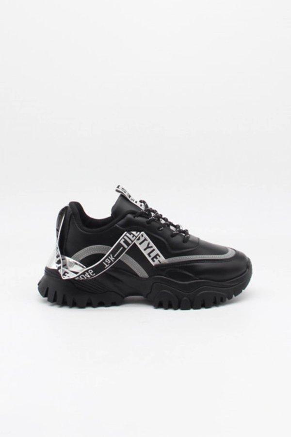 ΑΘΛΗΤΙΚΑ Damn sneakers μαύρο