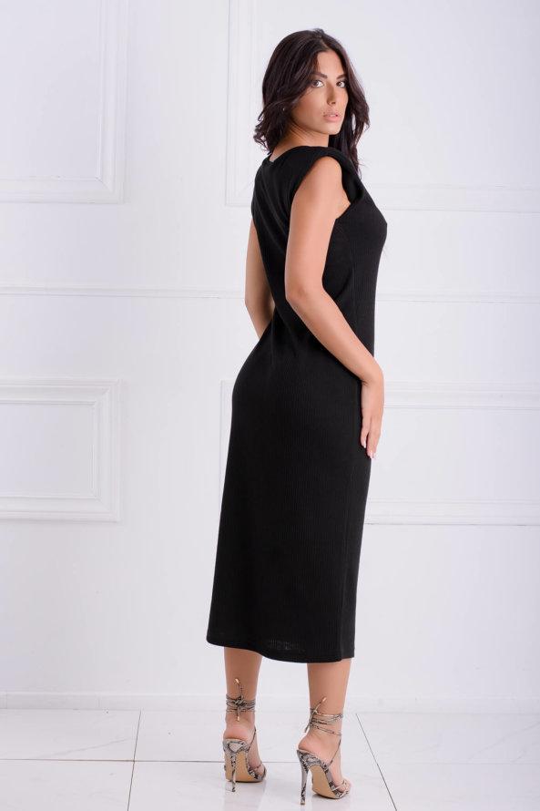 ΜΙΝΤΙ ΦΟΡΕΜΑΤΑ Daniella φόρεμα μαύρο