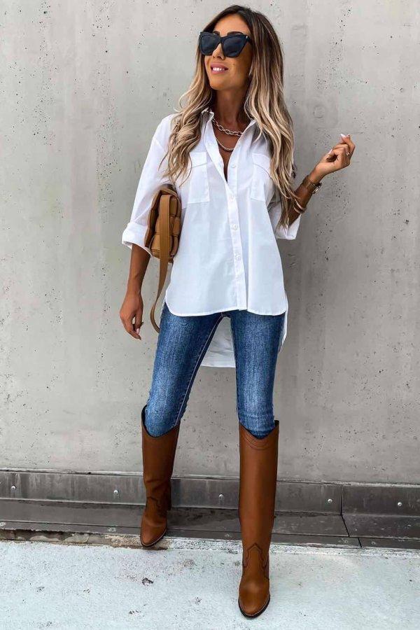 ΠΟΥΚΑΜΙΣΑ Thoughtful πουκάμισο λευκό