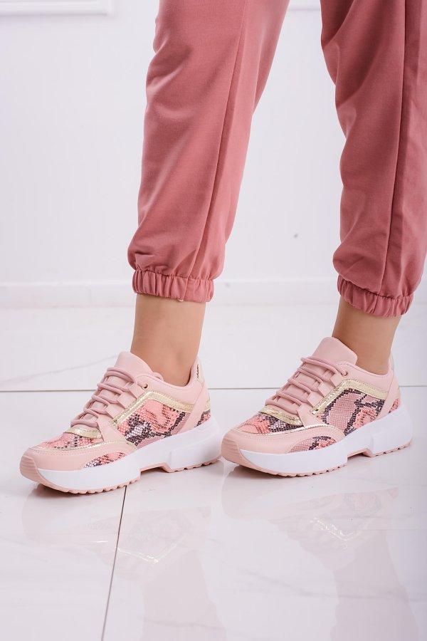 ΑΘΛΗΤΙΚΑ Union sneakers ροζ