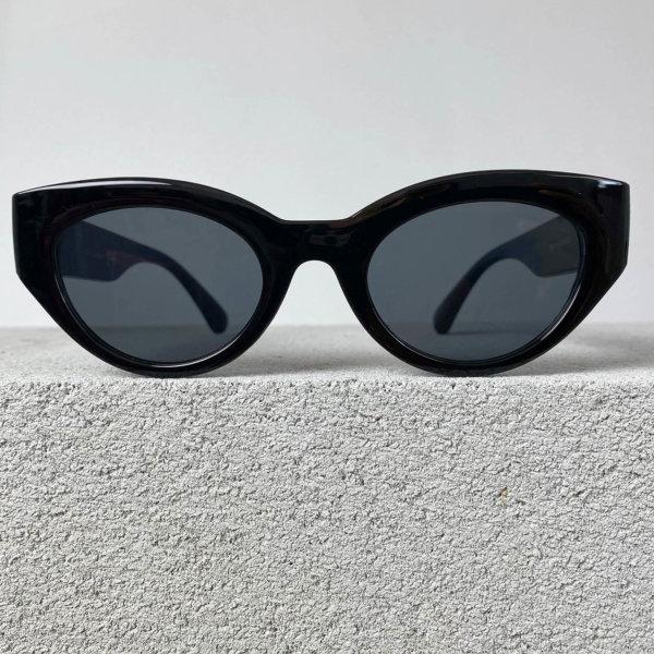 ΓΥΑΛΙΑ ΗΛΙΟΥ Haircut γυαλιά ηλίου μαύρος σκελετός μαύρος φακός