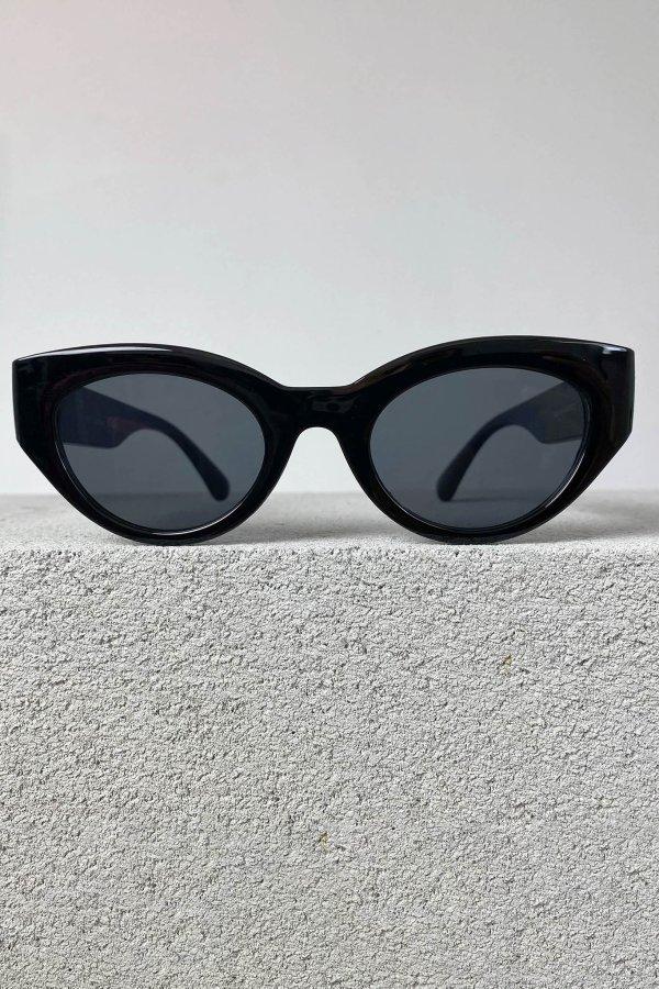 ΑΞΕΣΟΥΑΡ SALES Haircut γυαλιά ηλίου μαύρος σκελετός μαύρος φακός