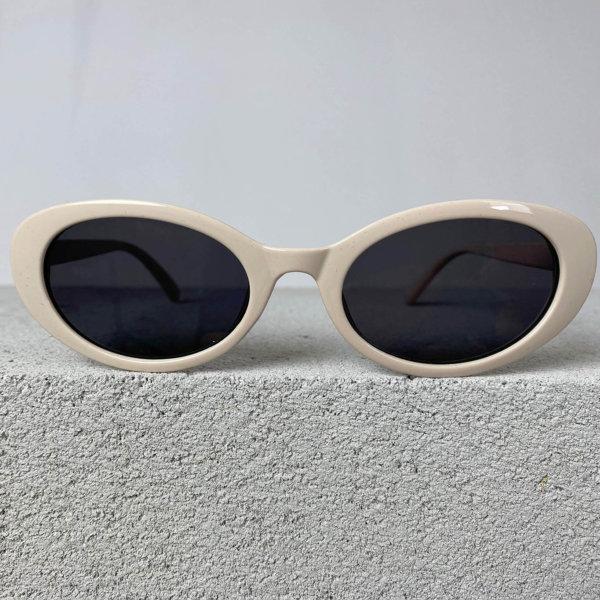 ΓΥΑΛΙΑ ΗΛΙΟΥ Narrow γυαλιά ηλίου μπεζ σκελετός μαύρος φακός