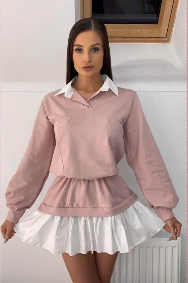 CASUAL ΦΟΡΕΜΑΤΑ Amazing φόρεμα ροζ