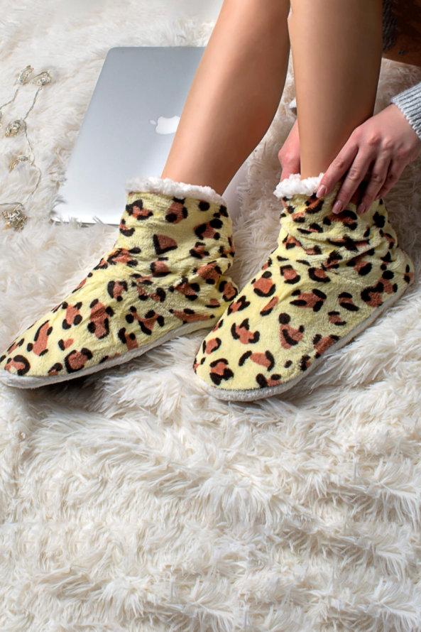 Slippers Adda slippers κίτρινο