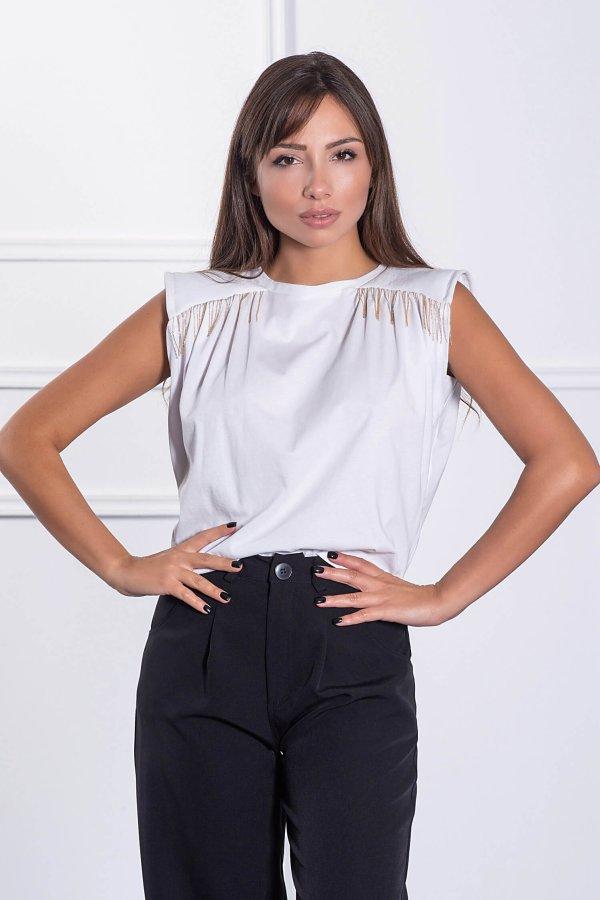 TSHIRTS Tasha t-shirt λευκό