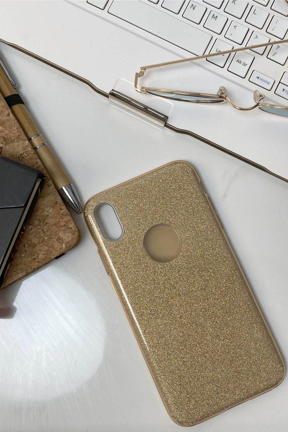 Enjoy θήκη iphone xs max χρυσό