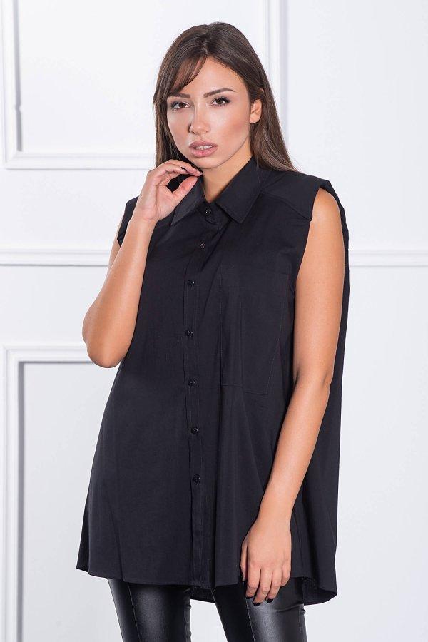 ΠΟΥΚΑΜΙΣΑ Fanelie πουκάμισο μαύρο