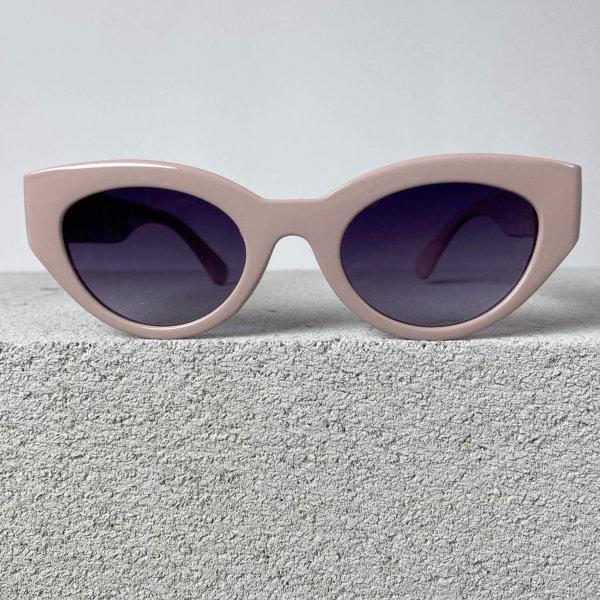 ΓΥΑΛΙΑ ΗΛΙΟΥ Haircut γυαλιά ηλίου ροζ σκελετός μωβ φακός