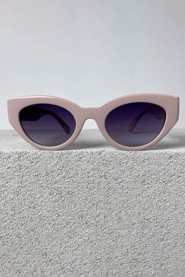 ΑΞΕΣΟΥΑΡ SALES Haircut γυαλιά ηλίου ροζ σκελετός μωβ φακός