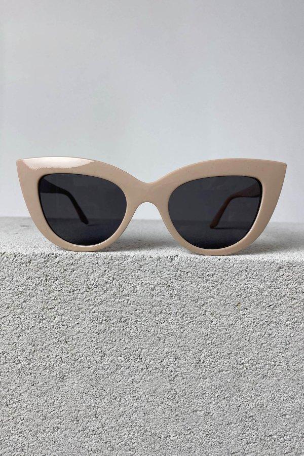 ΑΞΕΣΟΥΑΡ SALES Leader γυαλιά ηλίου μπεζ σκελετός μαύρος φακός