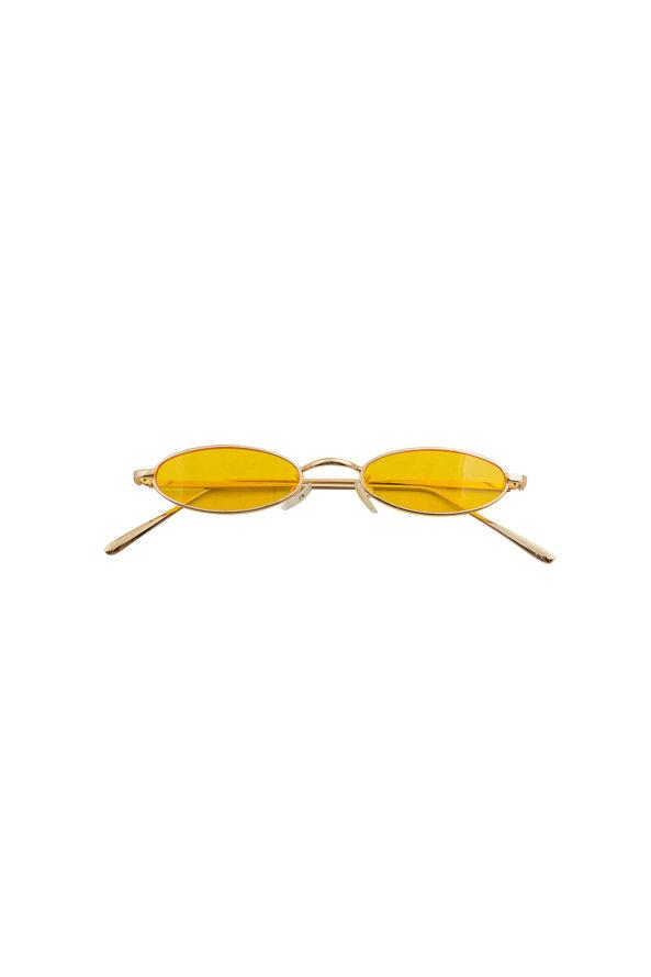 ΑΞΕΣΟΥΑΡ ΠΡΟΣΦΟΡΕΣ Media γυαλιά ηλίου χρυσός σκελετός κίτρινος φακός