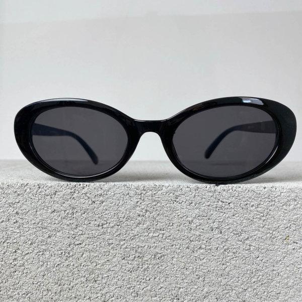 ΓΥΑΛΙΑ ΗΛΙΟΥ Narrow γυαλιά ηλίου μαύρος σκελετός μαύρος φακός